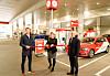 Her er en norsk bensinstasjon først i verden: Ut med