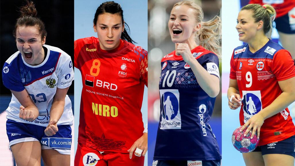 Norske Håndballspillere Damer