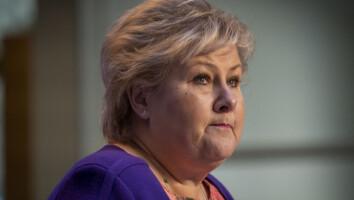 SEMINAR: Statsminister Erna Solberg stoler på arbeidsminister Torbjørn Røe Isaksens (H) vurdering om at han gjorde feil i forbindelse med Tangens USA-tur.