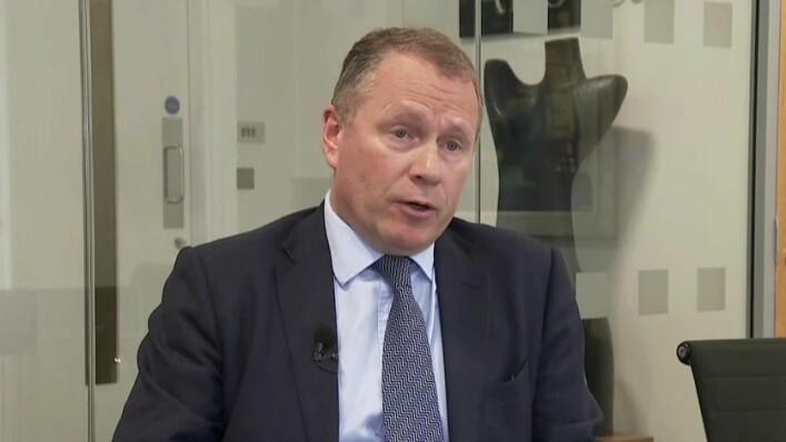 DELTAKELSE: Nicolai Tangen sa Røe Isaksen skulle delta før den offiselle invitasjonen til departementet.