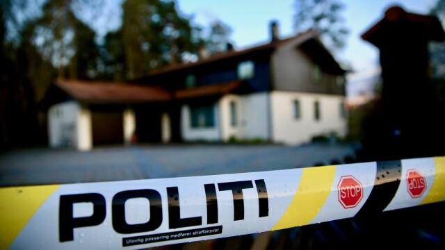 ÅSTED: Mellom klokken 09.16 og 10.15 mener politiet at en eller flere gjerningspersoner har tatt seg inn i huset og angrepet Anne-Elisabeth Hagen.