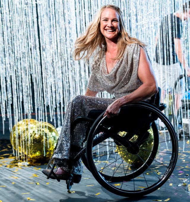 I RULLESTOL: Birgit Skarstein er deltaker i «Skal vi danse» på TV 2 høsten 2020.