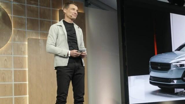 Toppsjef i Polestar, Thomas Ingenlath, ønsker mer åpenhet om utslippene knyttet til elbil-produksjon.