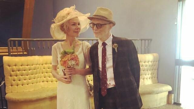 Matrimonio: Hanne Ørstavik e Luigi Spagnol si sono sposati nel 2019. Un anno dopo essersi ammalato gravemente.