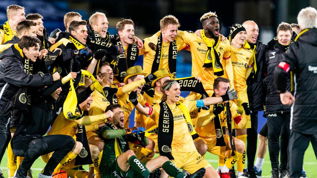 Historisk seriegull for Bodø/Glimt