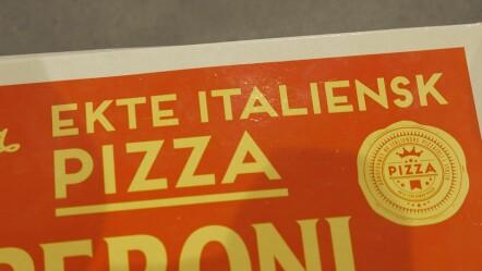 GENUINE ITALIAN: Il sostituto Rema 1000 è l'unico che contiene anche verdure nella pizza.