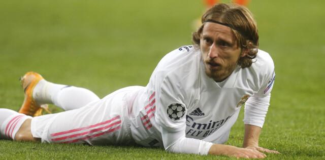 MIDTBANESJEF: Luka Modric.
