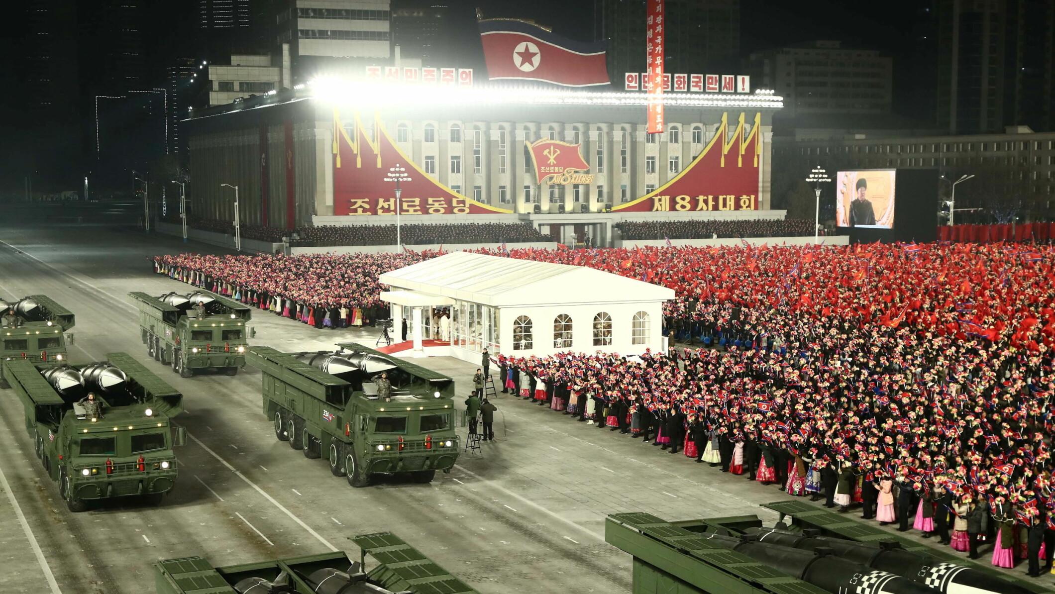 Koreahalvøya, Koreakrigen. Bilde KONA/AP.