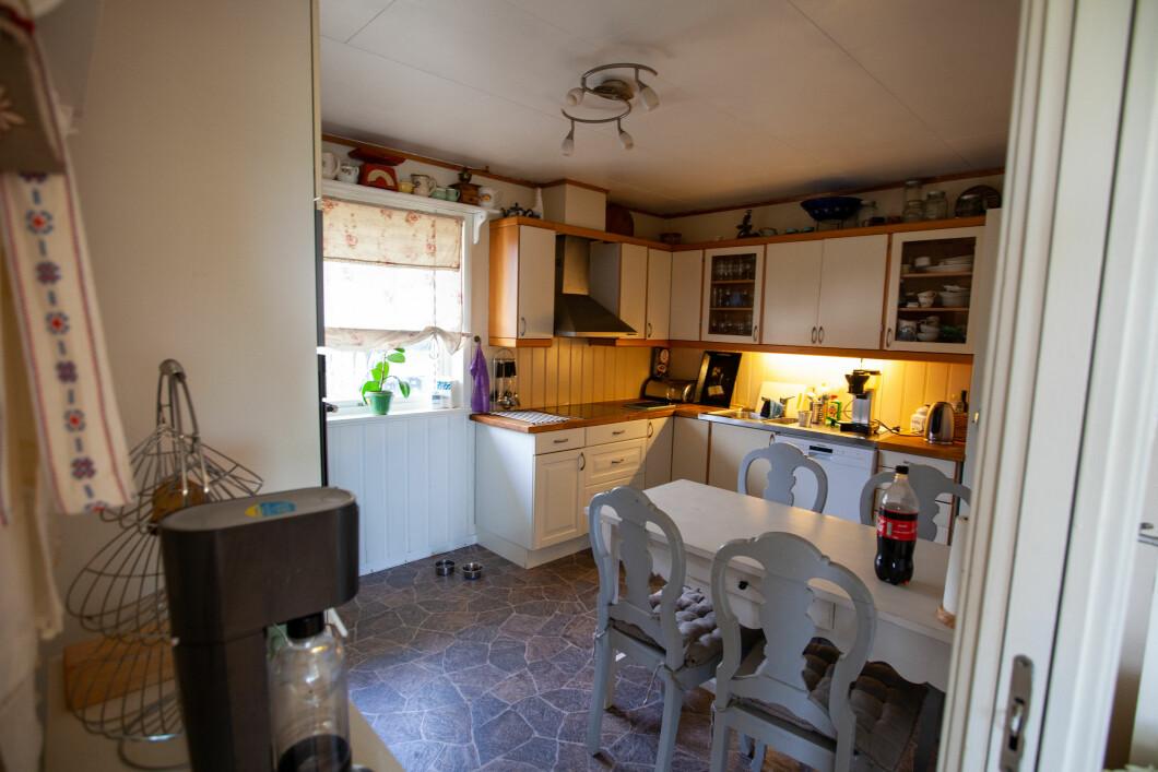 Prima: una cucina ben usata del 1987.
