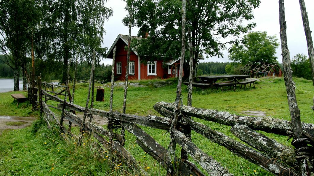 FARMEN-GÅRD: Dette er den nye Farmen-gården.