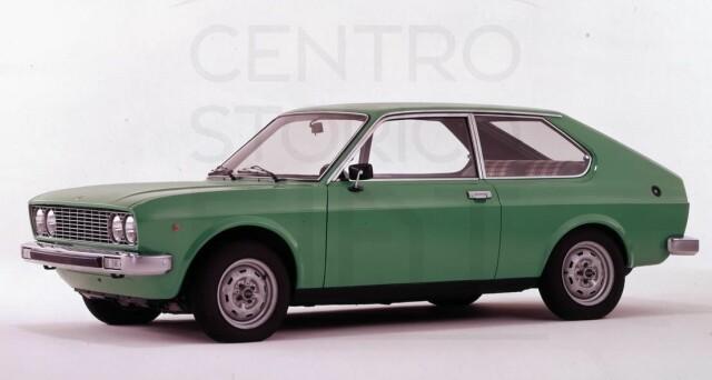La Fiat 128 Coupé SL a tre porte era una versione molto popolare nella famiglia 128.