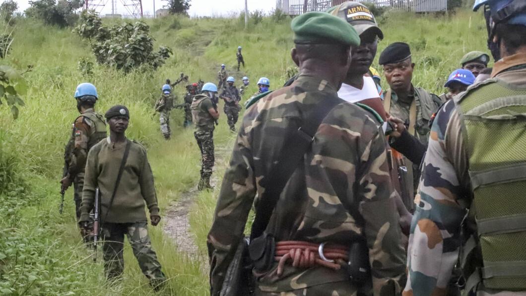Le Nazioni Unite e le forze di sicurezza parallele sorvegliano il luogo dell'attacco.
