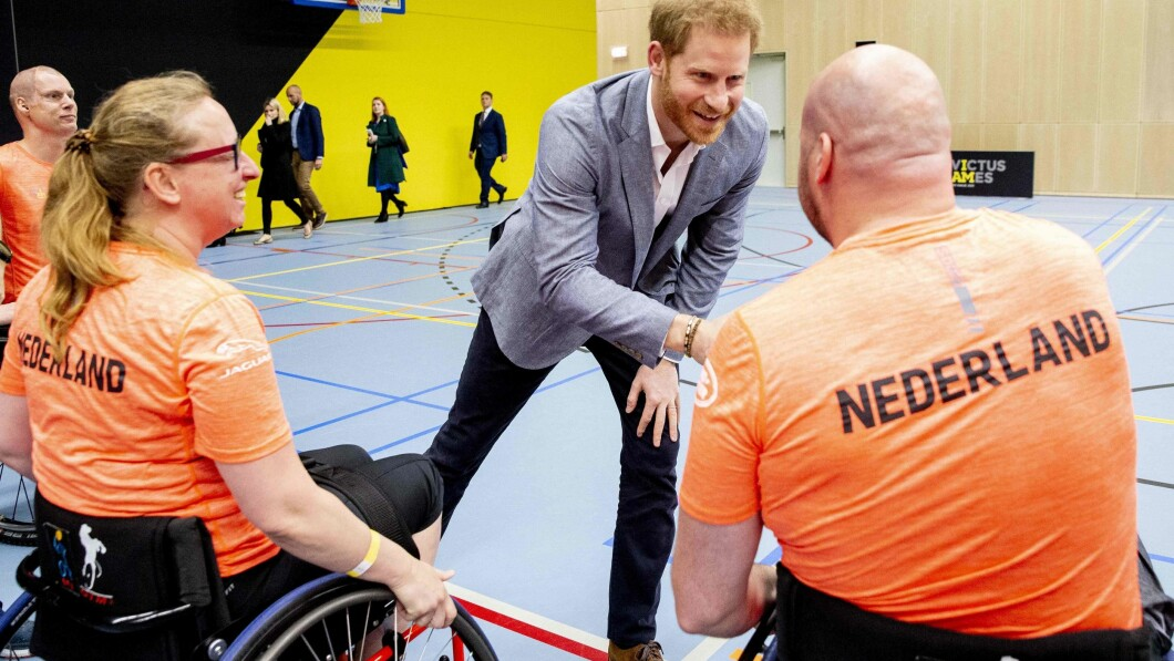 Prince Harry under Invictus Games i 2020.