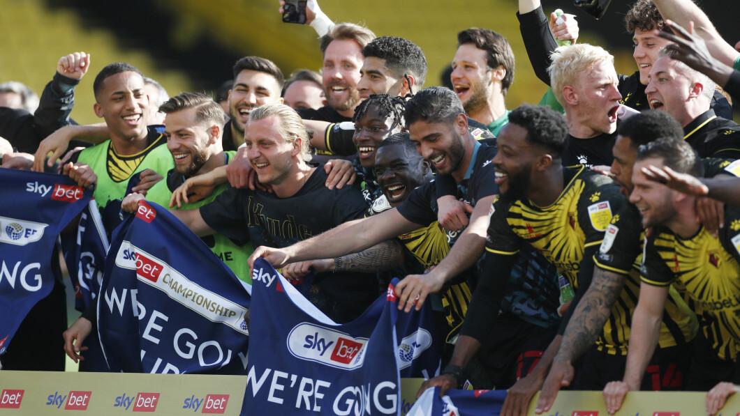 De comeback: Watford is terug in de Premier League.