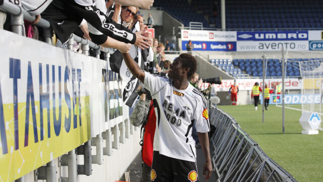 AUDIENCE HERO: Alexander Tettei still has a big star among Rosenborg fans.  Now the 35-year-old is likely to return to Trondheim.