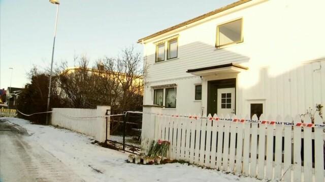 Scene: Thea Brawold blir funnet død i leiligheten hennes i Sandefjord Center. Foto: Erland Sorby