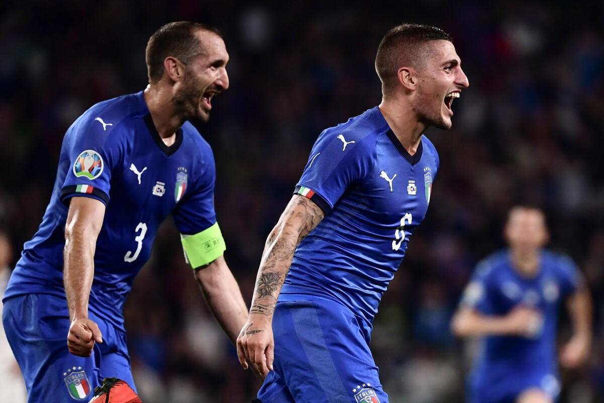 Italien Gruppe Em
