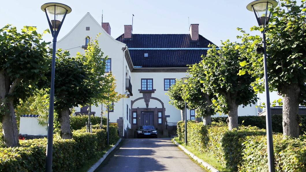 Ambasciata: questa è l'Ambasciata della Repubblica Popolare Cinese a Vendren, Oslo.  Haakon Mosvold Larsen