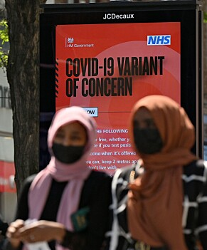 Borden in Londen waarschuwen inwoners voor: