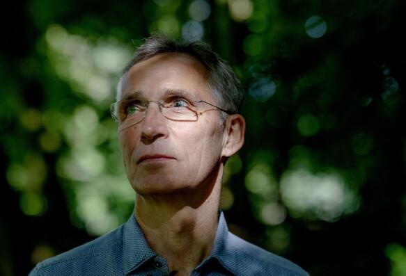 ENGASJERT: Natos generalsekretær Jens Stoltenberg er opptatt av klima.
