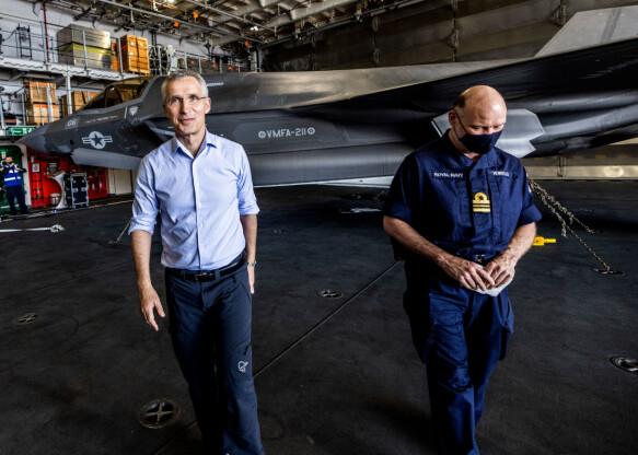 KREVENDE JOBB: Jens Stoltenberg har brukt mye tid på å overbevise medlemslandene i Nato.