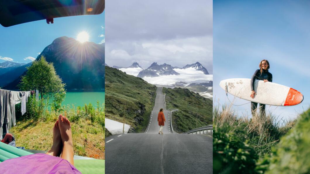 BORTE BRA, MEN HJEMME BEST: Mange nordmenn planlegger å feriere hjemme også i år.