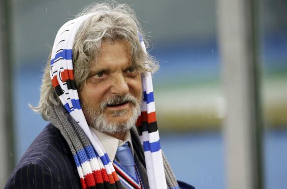 Fretalindi: Sampdoria - Presidente Massimo Ferrero.