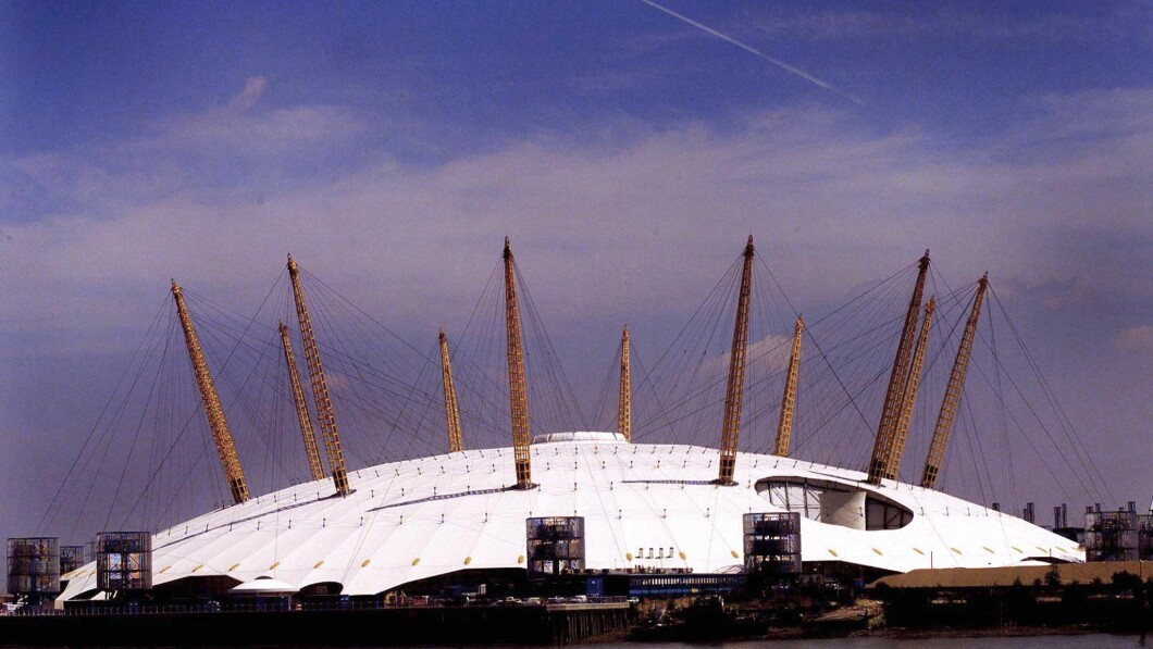 The Millennium Dome arena was supposed to celebrate the turn of the millennium, but ended up being an expensive flop.