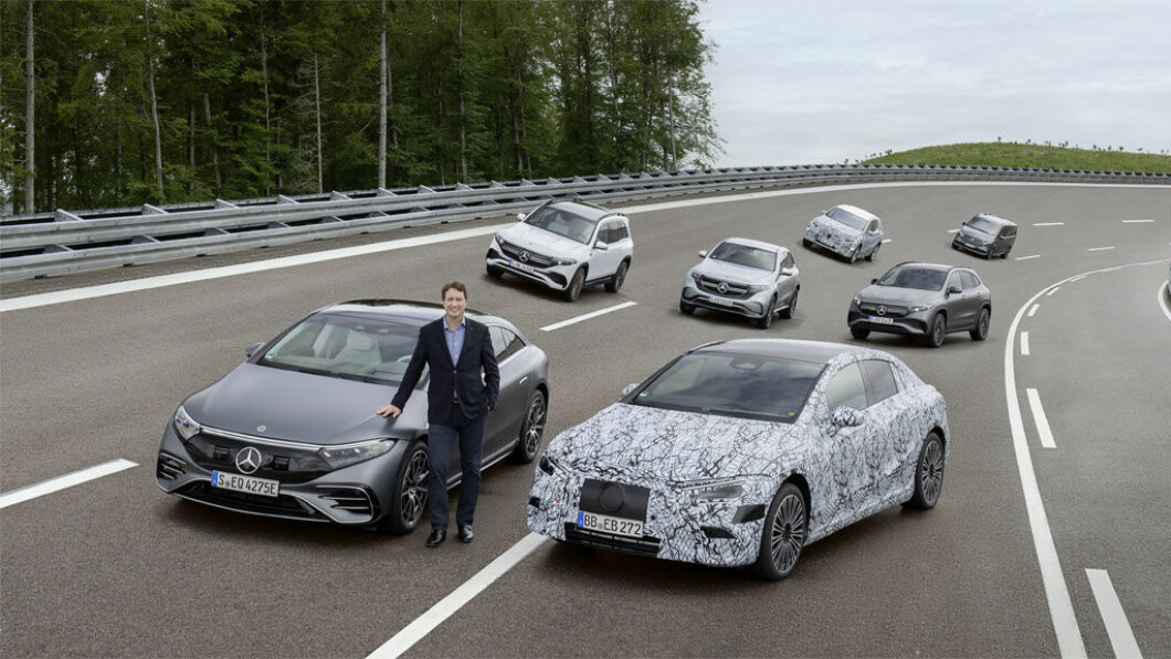 Mercedes begint al een goed modellengamma van elektrische auto's te krijgen, maar er zullen er meer komen.