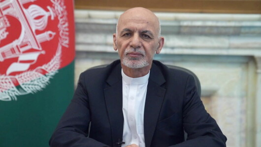 Pressure: Many of President Ashraf Ghani's close political allies surrendered or were deported to the Taliban without a fight.  He himself did not want to retire