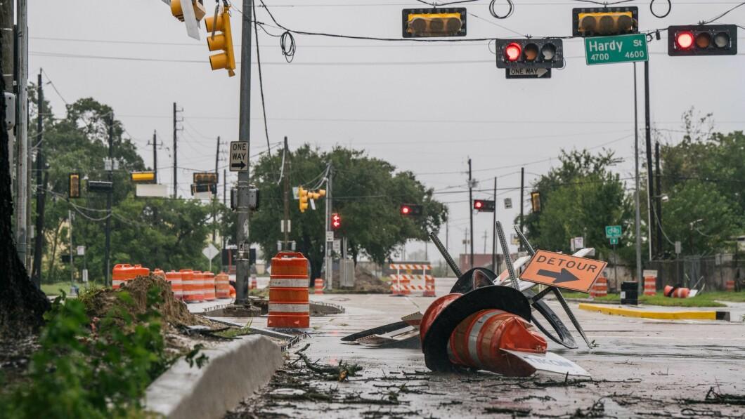 Houston, Texas: La tempesta tropicale Nicholas si lascia alle spalle le principali città.