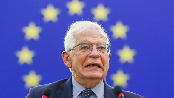 Josep Borrell ha risposto che l'UE non è stata inclusa nei negoziati.