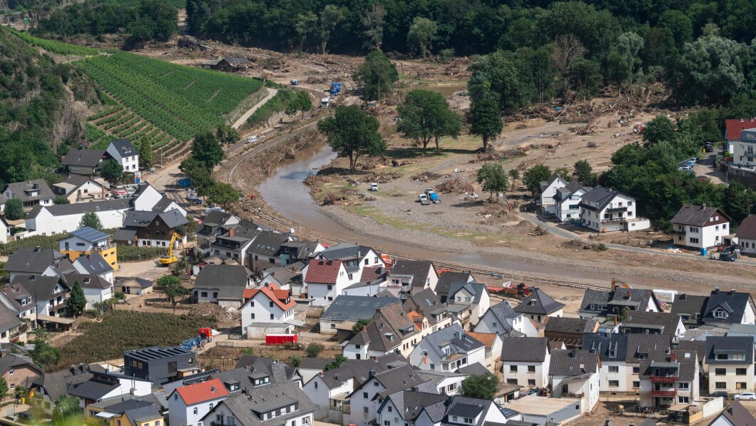 Questa foto è stata scattata a luglio, subito dopo l'alluvione.