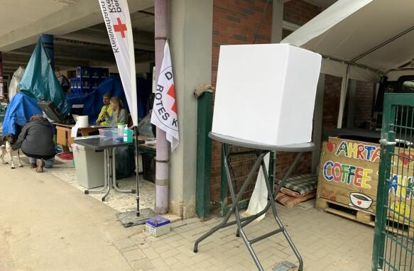 Nel villaggio di Denau è stato istituito un seggio elettorale temporaneo.