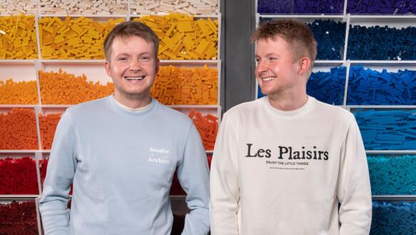 TRILLINGS: Øyvind and Ole Jakob Vikse Bjelland are triplets from Haugesund.
