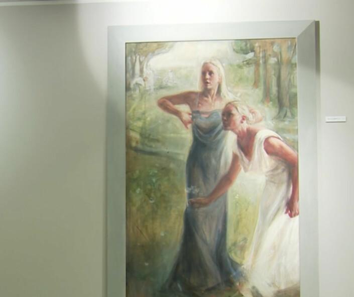 Derfor Velger Vebjorn Sand A Stille Ut Fredriksen Dotrenes Portretter Mot Deres Vilje