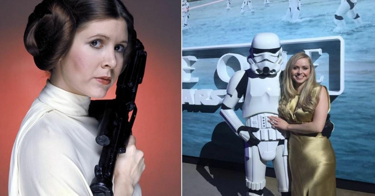 Norske Prinsesse Leia I Dyp Sorg Etter Fishers Dod