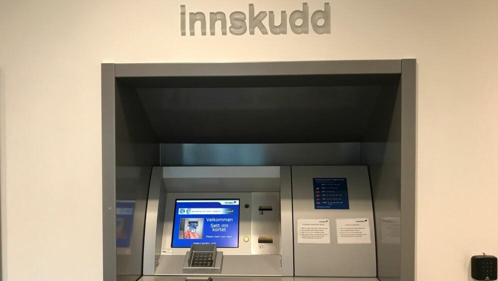 Innskuddsautomat Sparebank 1