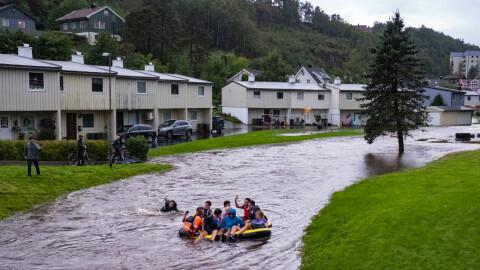 Våt og stormfull september