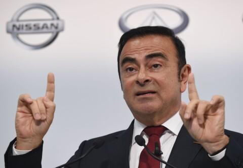 Kraftig børsfall for Nissan