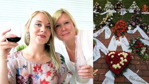 Camilla (50) ble sjokkert da hun besøkte datterens grav: – Det mest makabre jeg har sett