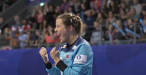 46f682f3 Lagvenninnene hyller Norges nye førstekeeper