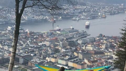 Varmerekorden glapp for Bergen