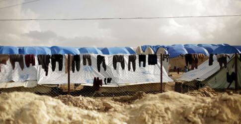 Lever i kloakk og sover i telt dekket av mugg