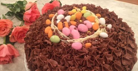 wenches kjokken eplekake  : Kake