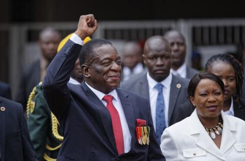 Mnangagwa tatt i ed