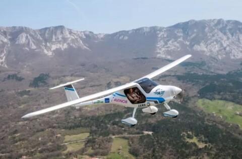 Avinor har kjøpt elektrisk fly
