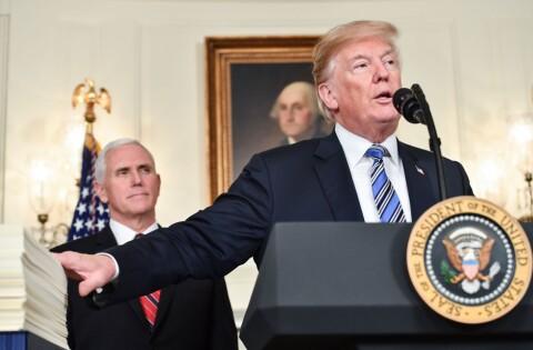Fikk ikke mur, ble sur og truet med veto – nå snur Trump