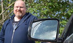 Terje Glomstad takkker dashcam-kameraet for at saken løste seg enkelt og greit.
