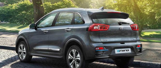 e-Niro er en crossover i mellomklassen, og søstermodell til Hyundai Ioniq.
